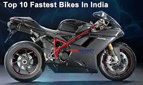 top 10 fastest bikes in india best