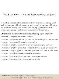 topcommercialleasingagentresumesamples lva app thumbnail jpg cb