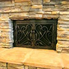 how to install fireplace doors cost