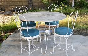 white iron patio furniture. White Metal Patio Set Iron Table And Chairs New Ideas With Patios Dixon Furniture P