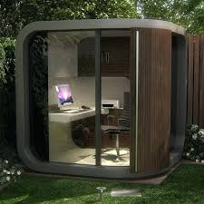 outside office shed. Outdoor Office Shed Curved Garden Room Pod Modern Outside Home Uk
