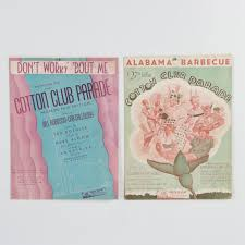 """Cotton Club Parade Sheet Music including """"Don't Worry 'Bout Me""""   EBTH"""