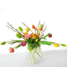 Big Bouquet Of 21 Colorful Tulips Mix 43 Cm Flowerdutchess Com