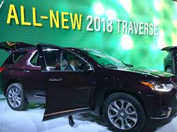 2018 chevrolet high country traverse. Brilliant High 2018 Chevy Traverse Reveal At NAIAS 2017 On Chevrolet High Country Traverse