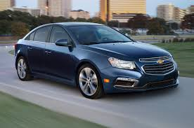 Bruce's Journal: Driving a 2015 Chevy Cruze