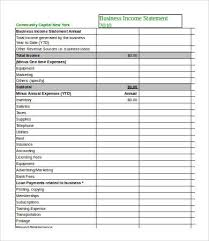 excel income statement income statement template excel 7 free excel documents download
