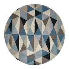 winsome inspiration turquoise round rug modern ideas round  cievi