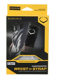 Details About Wilson Evo Shield Compression Wrist Band White Baseball Wristband Wtv2045160113