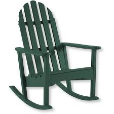 l l bean all weather adirondack rocker 349 liked on polyvore featuring home