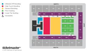 Monsta X Seating Plan Sse Arena Wembley