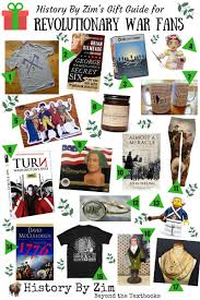 gift guide revolutionary war fans