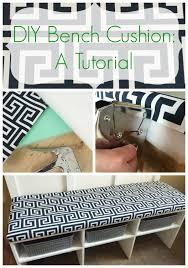 great tutorial for making a bench cushion benchcushion