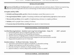 Resume For Nurses Nurse Resume Template Luxury Nursing Resume Sample Writing Guide 97