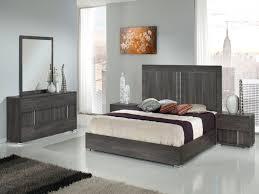 Grey Bedroom Furniture Set Fresh Modrest Luca Italian Modern Grey Bedroom  Set