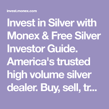 Monex Gold Chart Invest In Silver With Monex Free Silver Investor Guide
