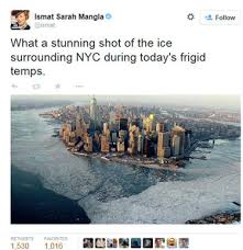 never yet melted global warming global warming satire twitter weather