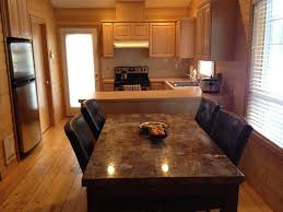 Granite Top Dining Table And How To Choose The Base Oak Long Bar Kitchen