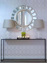 modern entryway furniture inspiring ideas white. Modern Entryway Furniture Inspiring Ideas White. Contemporary Foyer Mirrors Mirror Home Decor Subtle Textures Hgtv White