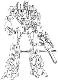Small Picture Autobot Coloring Pages Optimus Prime And Autobots In Transformers