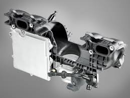 Engine Intake Manifold Design Bmw 4 4l Twin Turbo V 8 Engine Intake Manifold Eurocar News