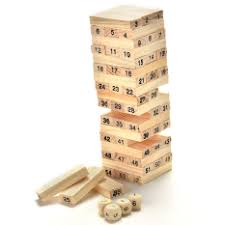Wooden Bricks Game Stacking Blocks Buy Stacking Blocks at Best Price in Singapore 57
