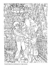 Small Picture Albus dumbledore and harry potter coloring pages Hellokidscom