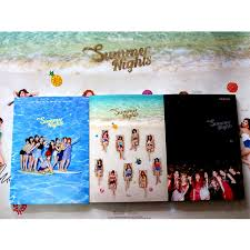Summer Photo Albums Signed Twice Autographed 2018 2nd Album Summer Nights Album Cd