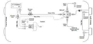 back up light wiring diagram auto info pinterest diagram wiring diagram of a circuit back up light wiring diagram
