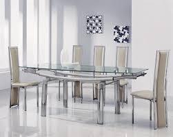 delta extending glass dining table delta extending glass dining table and 6 chairs