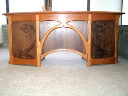 full size art nouveau desk