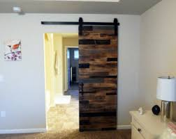 interior barn doors. Georgia Reclaimed Look Interior Barn Door - Horizontal Plank Style Sliding Doors B