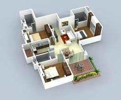 3d 3 bedroom house plans 3 bedroom house plans design 3 bedroom 2