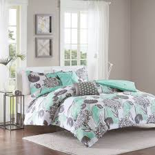 turquoise and gray bedding. Fine Gray Amazoncom Intelligent Design Marie Comforter Set FullQueen Size  Aqua  Grey Brushed Floral U2013 5 Piece Bed Sets Ultra Soft Microfiber Teen Bedding For  With Turquoise And Gray