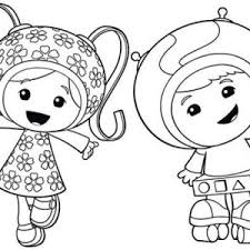 Small Picture Milli is so Happy in Team Umizoomi Coloring Page Color Luna