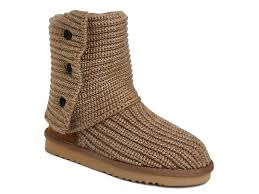UGG Women Classic Cardy Boots 5819 Chestnut