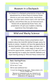 speaking akron fossils science center a wide range of visuals and interactive opportunities students of all ages will have a blast learning how to apply the scientific method to all