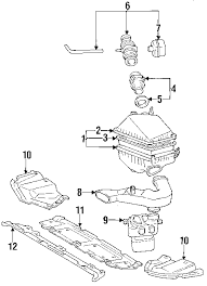 parts com® toyota camry engine trans mounting oem parts diagrams 1995 toyota camry se v6 3 0 liter gas engine trans mounting