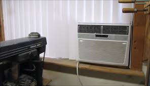 vertical window air conditioner. cheap vertical door blinds modified for sliding window with air conditioner by tomwhocares - youtube