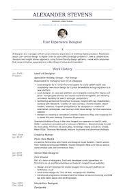 Ux Designer Resume Stunning User Experience Researcher Resume Template 28 Ux Designer Resume