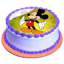 fancy mickey mouse cake 2kg