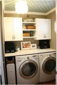 Diy Laundry Room Ideas Small Laundry Room Shelving Ideas Homespun Laundry Look Small