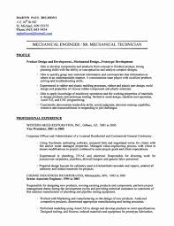 Electrical Engineering Resume Mechanical Engineering Resume Objectives Templates Inspirational 13