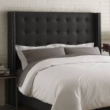 black tufted headboard king.  Tufted Black Tufted Headboard King Amazing Of Upholstered  Beautiful Intended Ideas And Black Tufted Headboard King