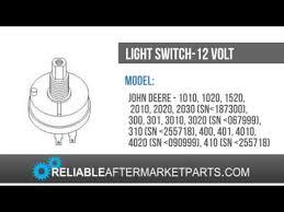 ar28401 new john deere light switch 1010 1020 1520 2010 2020 2030 ar28401 new john deere light switch 1010 1020 1520 2010 2020 2030 3010 3020 4010