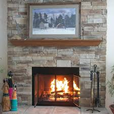 average cost to install a gas fireplace mountain stack stone 6 6 wide with returns 3