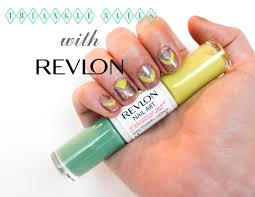 Aztec Triangle Nails with Revlon Nail Art Expressionist | The ...