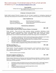 Executive Assistant Resume Executive Assistant Resume Samples Secretary Sample Senior Job 67