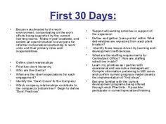 30 60 90 Day Plan Template Affordablecarecat 30 60 90