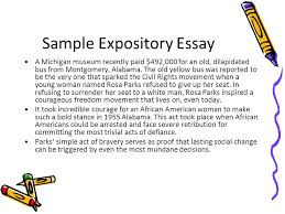 expository writing hooks transitions conclusions ppt 9 sample expository essay
