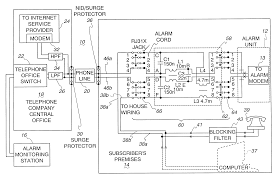 patent us6404347 alarm filter circuit google patents patent drawing